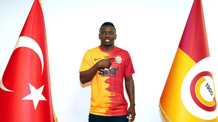 Son Dakika   Galatasaray, Etebo transferini resmen açıkladı!