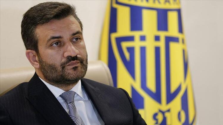 MKE Ankaragücü Kulübü Başkanı Fatih Mertten transfer yasağı açıklaması