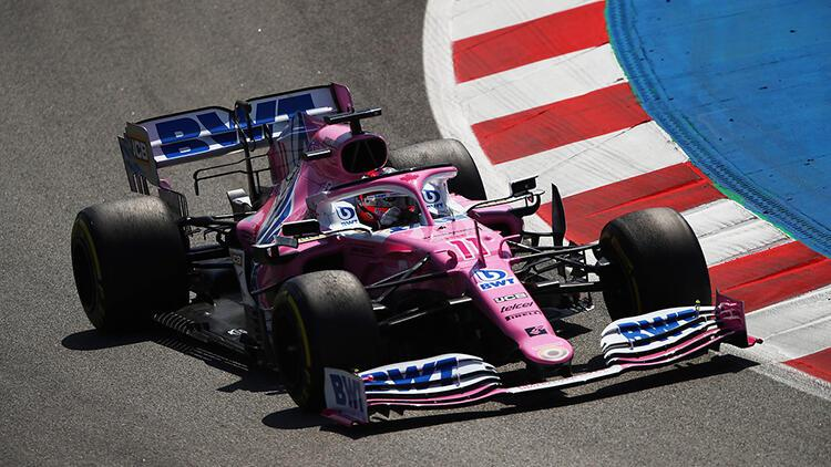 F1'de Sergio Perez gelecek sezon Racing Point'ten ayrılıyor