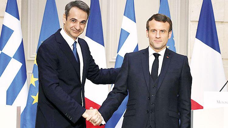Macron'dan Yunanistan'a kiralık fırkateyn