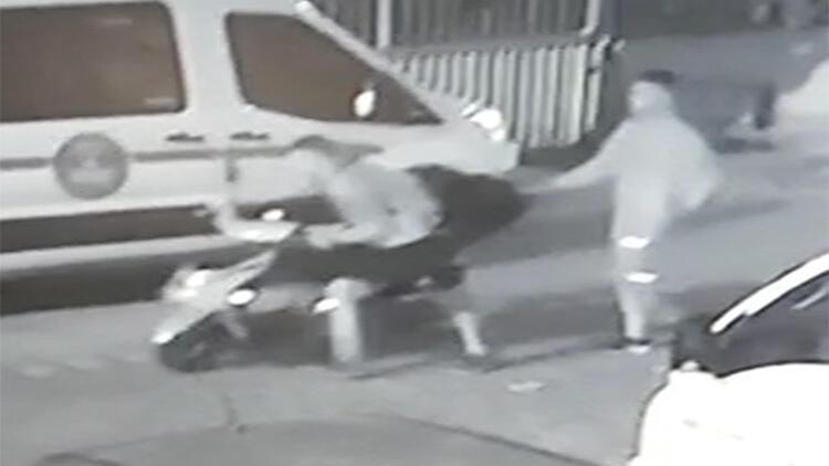 Kameradan belirlenen hırsızlık şüphelileri kovalamacayla yakalandı
