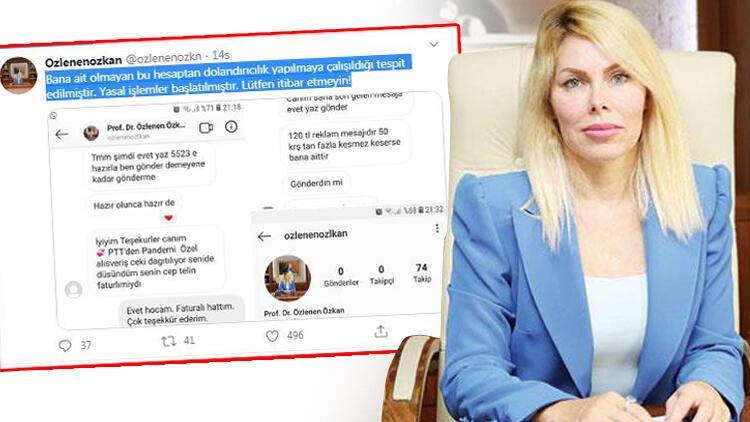 Rektörü şoke eden mesajlar! Sosyal medya hesabından duyurdu…