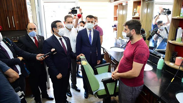 Ankara'da koronavirüs denetimi
