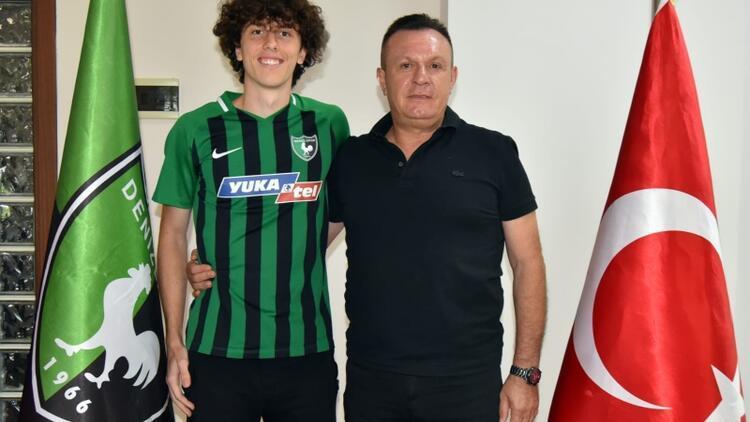 Denizlispor, Muhammed Eren Kıryolcu ile sözleşme imzaladı