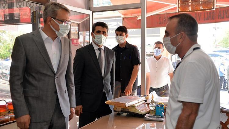 Bingöl'de kapsamlı koronavirüs denetimi