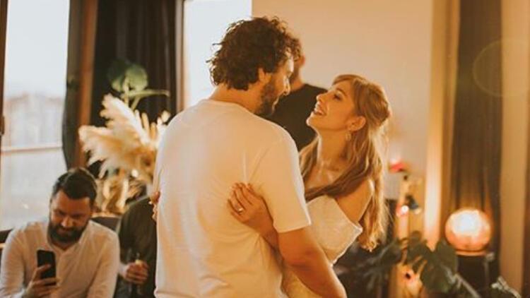 Gözde Mutluer: Canım sevgilimle dün evlendik