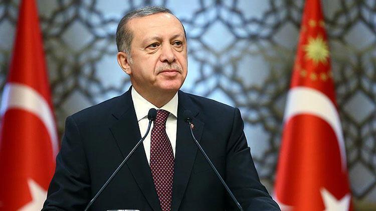 Cumhurbaşkanı Erdoğan'dan şehitlerin ailelerine taziye mesajı