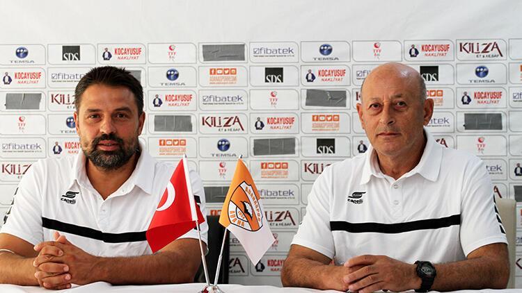 Adanaspor Teknik Direktörü Akyel: 'Hedefimiz her zaman yukarılara oynamak'