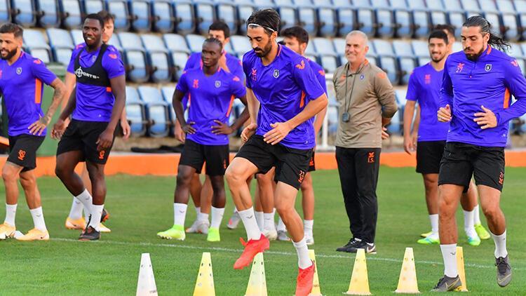 Medipol Başakşehir'de Hatayspor maçı hazırlıkları