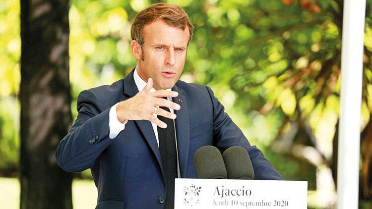 Macron'dan hadsiz çıkış