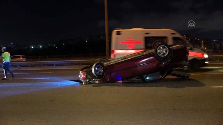 Son dakika... Eyüpsultan'da trafik kazası: 3 yaralı
