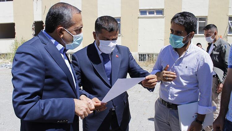 Erciş'te depremde hasar gören hastanenin yerine Ağız Diş Sağlığı Merkezi