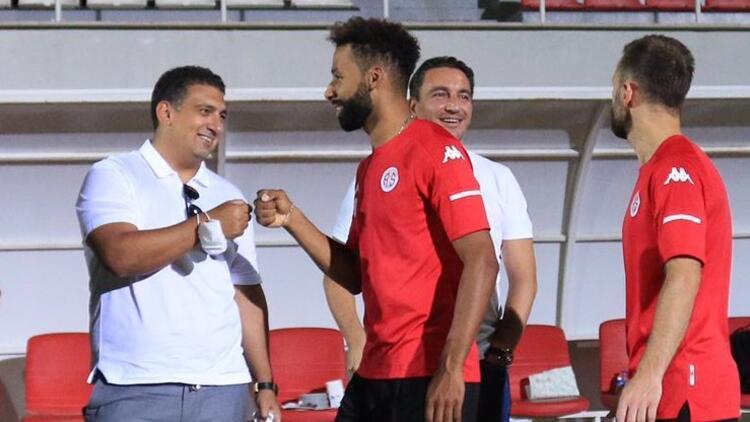 Antalyaspor'a yeni sezon öncesi tatlı dopingi