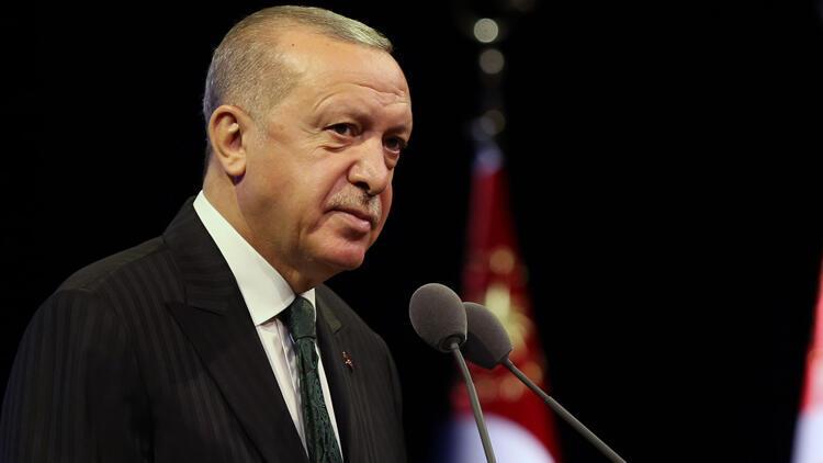 Son dakika: Cumhurbaşkanı Erdoğan'dan Ertuğrul Gazi'yi anma mesajı