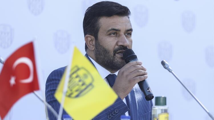 """Ankaragücü Başkanı Fatih Mert: """"Bugün yeni bir başlangıç yapıyoruz..."""""""