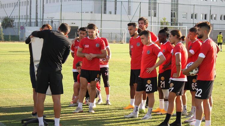 Eskişehirspor lige 3 puanla başlama hedefinde
