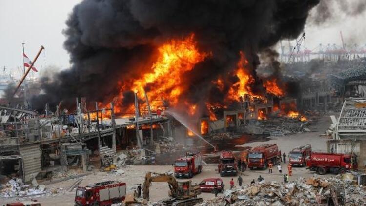 Beyrut Limanı'ndaki yangının sebebi belli oldu