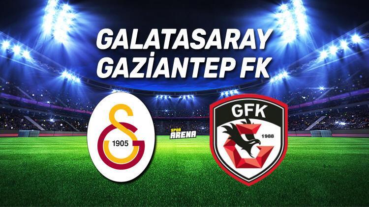 Galatasaray Gaziantep FK maçı ne zaman, saat kaçta, hangi kanalda?