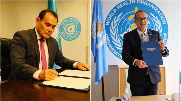 Türk Konseyi ile DSÖ arasında iş birliği anlaşması