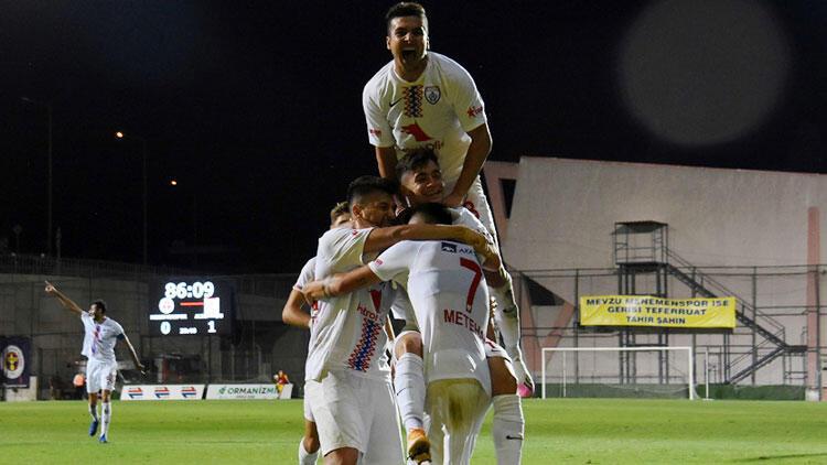 Menemenspor 0-1 Altınordu | 16'lık Burak İnce gol attı