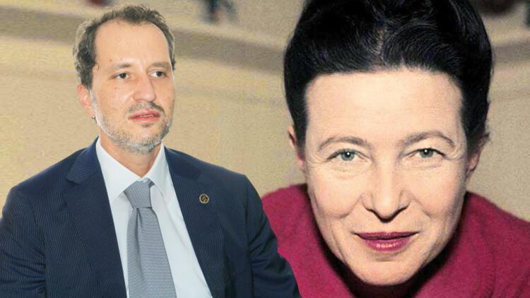Son dakika: Erbakan'ın büyük gafı... Beauvoir'ı 'adam' yaptı, 'TT' oldu