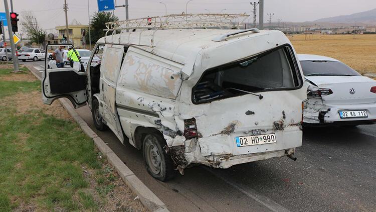 Adıyaman'da üç ayrı kaza: 4 yaralı