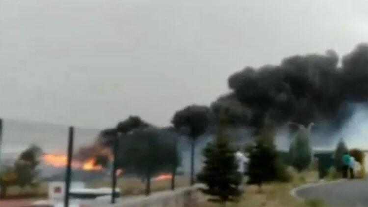 Son dakika... Ankara'da korkutan yangın