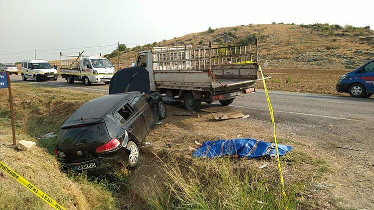 Adana'da korkunç kaza! 2 ölü, 4 yaralı
