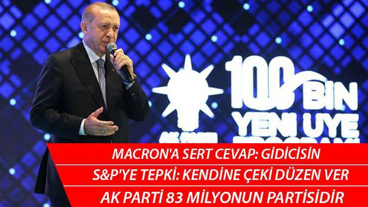 Son dakika: Cumhurbaşkanı Erdoğan'dan önemli mesajlar