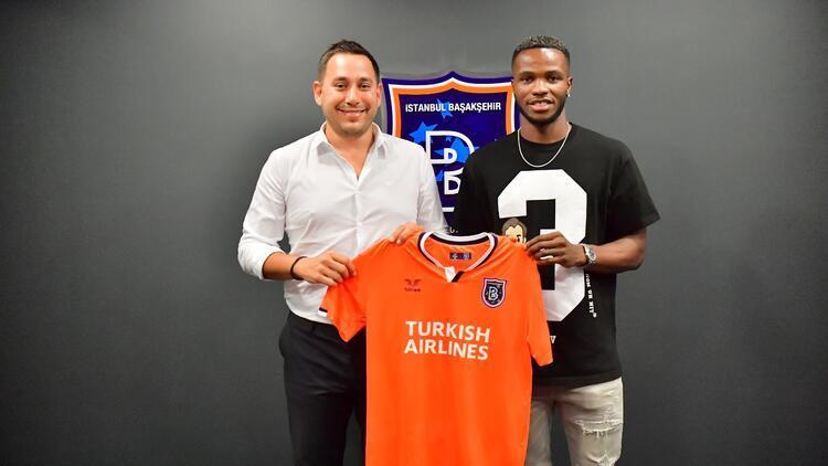 Son dakika transfer haberi | Başakşehir, Boli Bolingoli-Mbombo'yu transfer etti