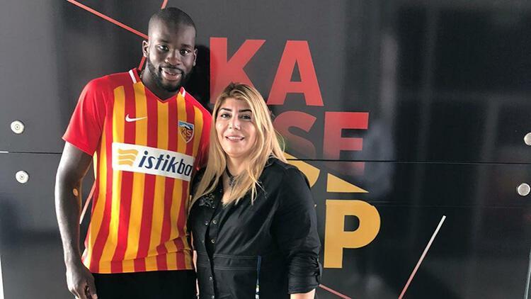 Son dakika   Kayserispor, Wilfried Kanga transferini açıkladı
