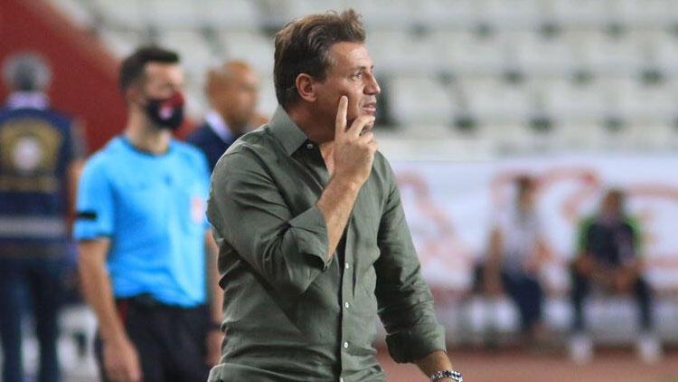 Antalyaspor hocası Tamer Tuna: 'Kazanarak başlamak önemli'