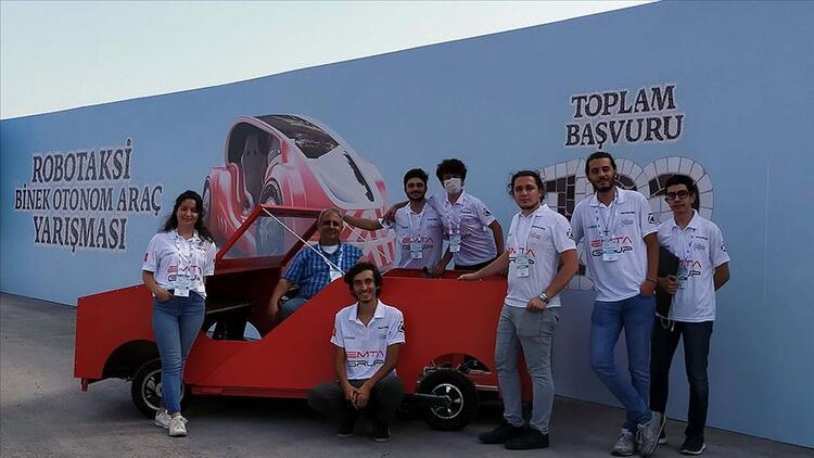 Aracın her şeyini öğrenciler yaptı, Teknofest'te ilk üç takımdan biri oldu