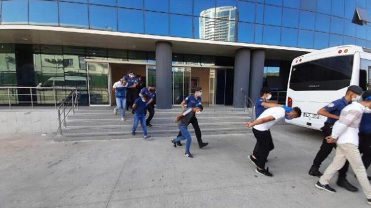 Bursa merkezli uyuşturucu operasyonunda 41 tutuklama