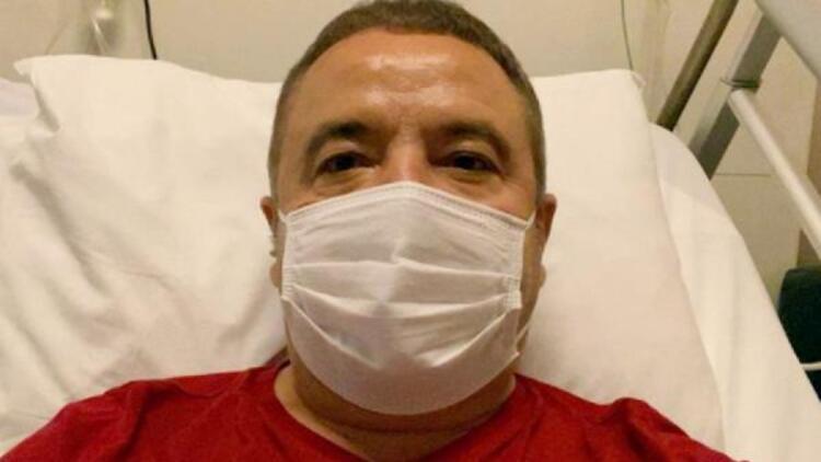 Antalya Belediyesi: Başkan Böcek'in akciğerlerinde iyileşme izlenmektedir