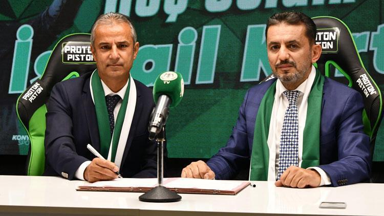 Son Dakika | Konyasporda İsmail Kartal dönemi başladı Serdar Kesimal...