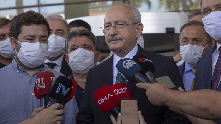 Kılıçdaroğlu'ndan, Muhittin Böcek'in sağlık durumuna ilişkin açıklama