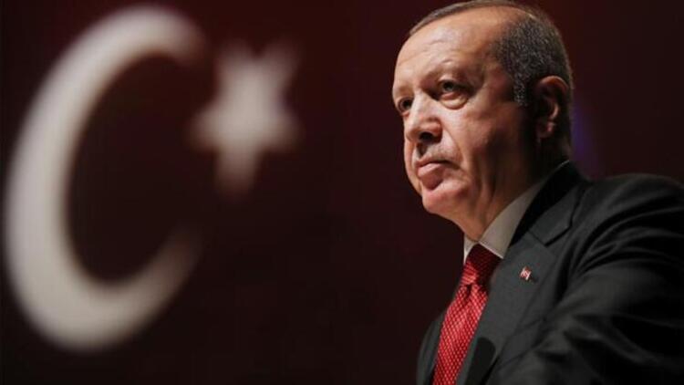 Cumhurbaşkanı Erdoğan'dan şehit Türk Kızılay görevlisi için başsağlığı mesajı