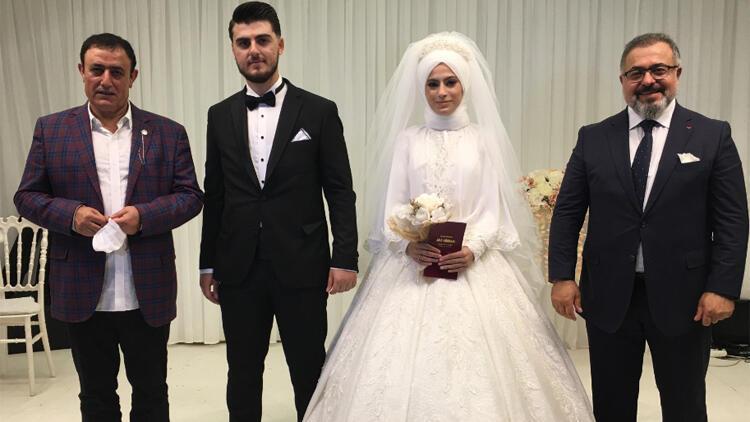 Mahmut Tuncer nikah şahidi oldu