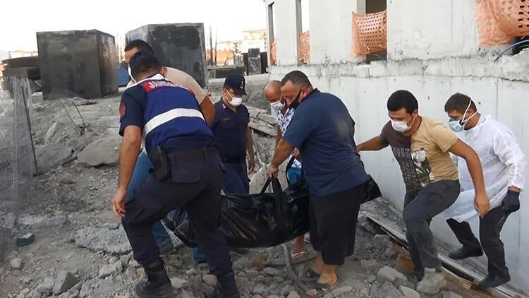 İnşaatta 5'inci kattan düşen işçi öldü