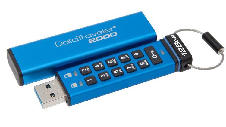 Kingston, DataTraveler 2000 satışa çıktı: İşte özellikleri