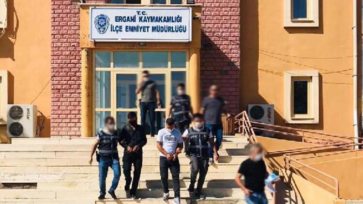 Ergani'de hırsızlık şüphelisi 2 kişi tutuklandı