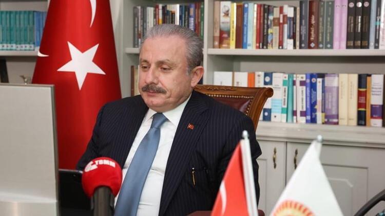 TBMM Başkanı Mustafa Şentop, Türkmenistan Meclis Başkanı ile görüştü