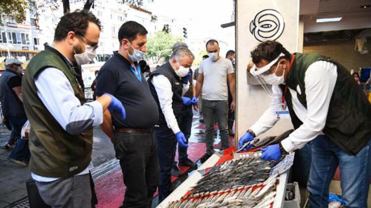 Kayseri'de yasal boyutun altındaki 50 kilo balığa el konuldu
