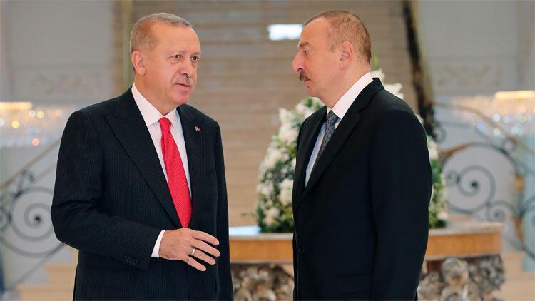 Son dakika haberler... Cumhurbaşkanı Erdoğan, Aliyev ile görüştü