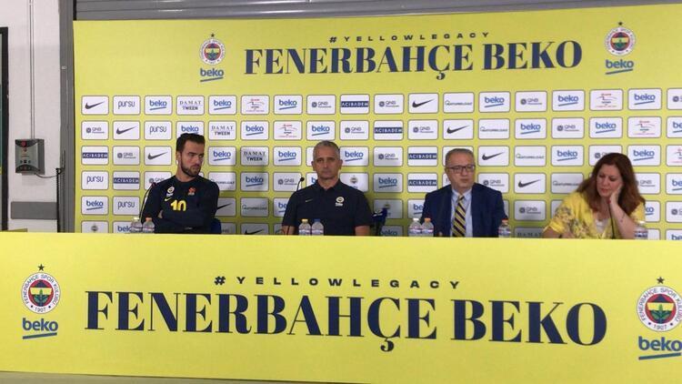 Fenerbahçe Beko'da medya günü! Igor Kokoskov'un hedefi...