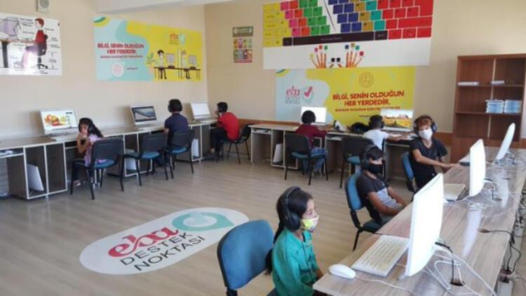 Bakan Selçuk: EBA Destek Noktaları dolu, aferin size çocuklar