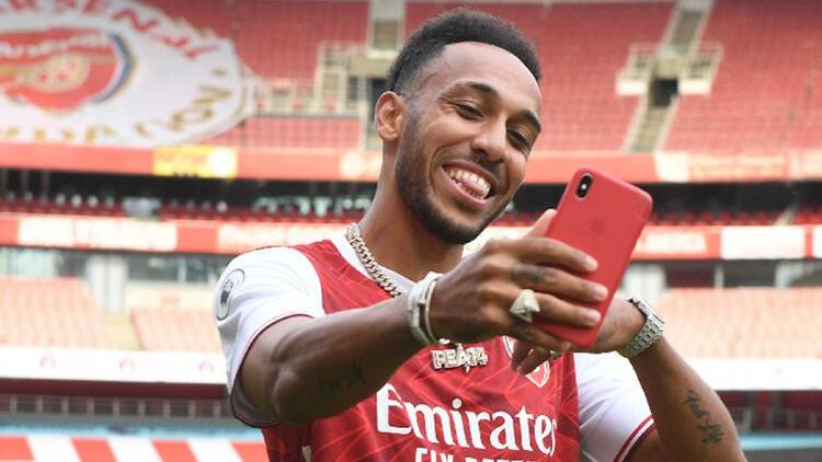 Son Dakika Transfer Haberi | Aubameyang 2023'e kadar Arsenal'da