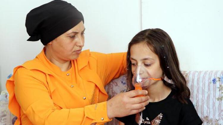 Akciğer yetmezliği hastası Dilara yardım bekliyor