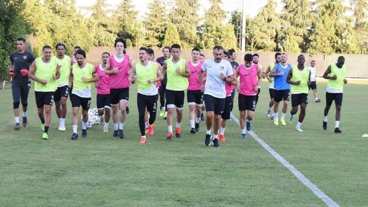 Denizlispor'da Trabzonspor mesaisi sürüyor